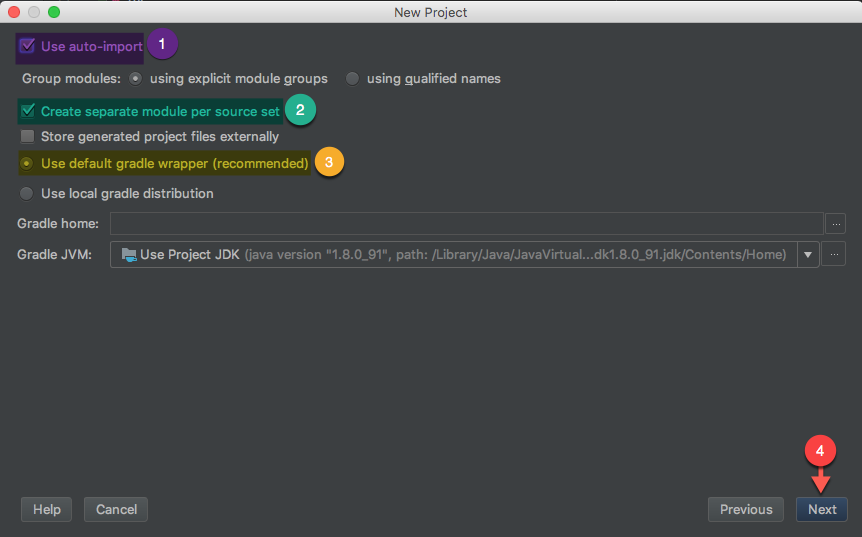 Ktor IntelliJ: Gradle Config