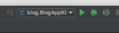 Ktor IntelliJ: Program Run Config